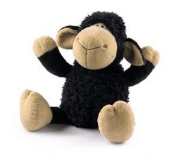 Nici Sheep 25cm Dangling Toy black