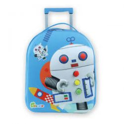 Bouncie 3D Kindertrolley Set - Robot