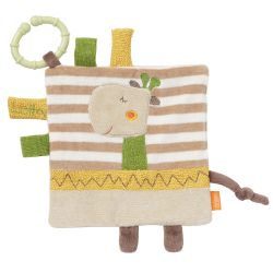 Fehn Loopy & Lotta Crinkle toy giraffe with ring