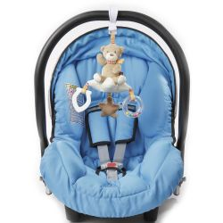 Fehn Rainbow Activity Teddy auf Stern mit Klemme