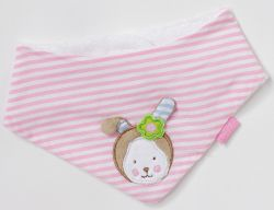 Fehn - beauty sleep Baby Jersey-Halstuch Hase