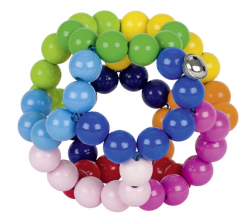 Heimess Gripper Elastic Rainbow Ball large