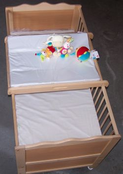 Levaria Crib Youth Bed Dino beech wood included