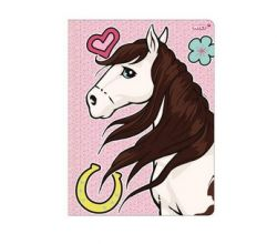 Nici Binder Soulmates horse Ayeta with elastic strap for DIN A4