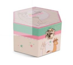 Nici jewellery box Lady Lama, 13,5x8cm
