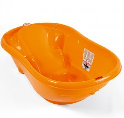 OK-Baby bathtub Onda orange