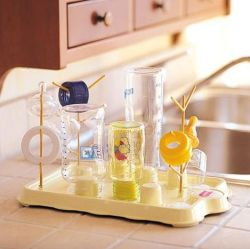 OK-Baby Bibosec Baby Butler bottle drying rack
