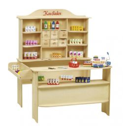 Roba sales stand buying natural incl. accessories