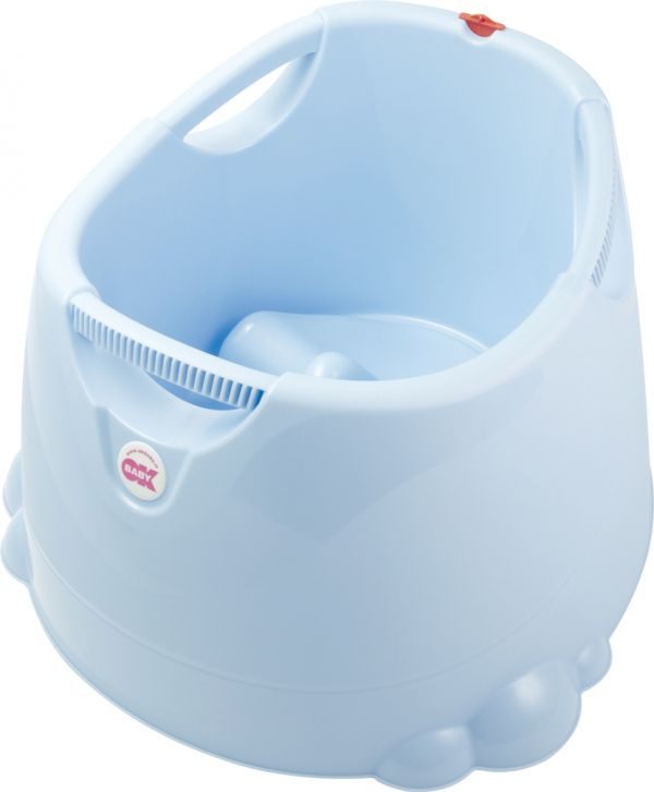 OK-Baby Mini-Swimmingpool / bath seat Opla blue