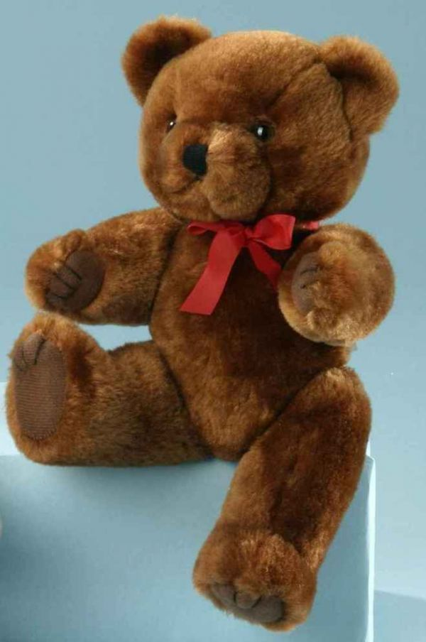 scheibenb r teddyb r braun 26 cm. Black Bedroom Furniture Sets. Home Design Ideas