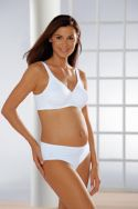 Maternity briefs in stretch cott...