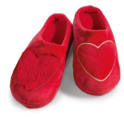 Nici slipper with heart application, size 38-41