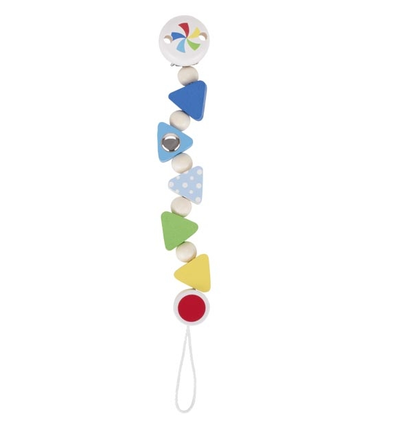 Heimess Confetti Soother Holder  741540 Dummy Chain