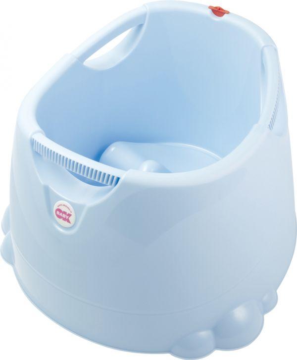 Miraculous Ok Baby Mini Swimmingpool Bath Seat Opla Blue Creativecarmelina Interior Chair Design Creativecarmelinacom