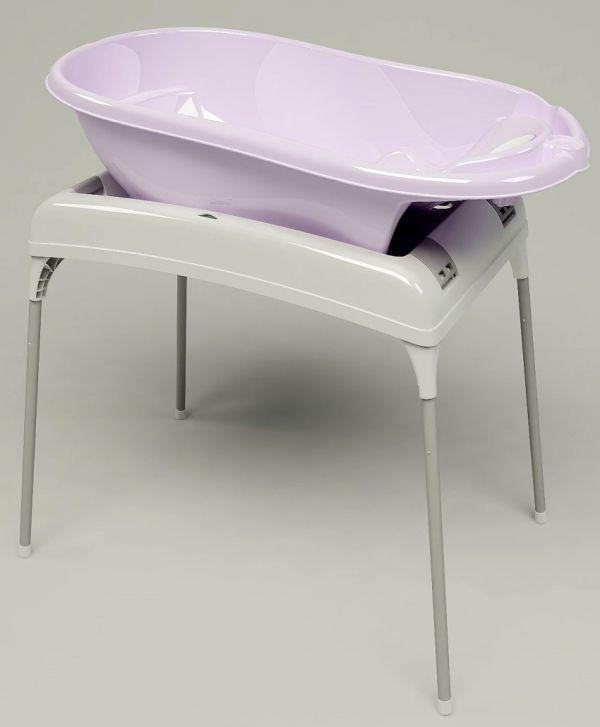 Baby Bath Tub With Stand.Details About Ok Baby Bath Tub Stand Support And Changing Table