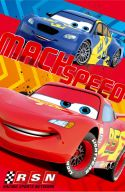 Fleecedecke im Disney Cars Design